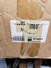 eds277 appleton box2-Gang TANDEM UNILET W/ 3/4 HUB