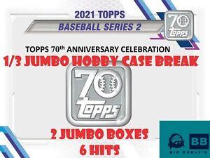 New York Mets 2021 Topps Series 2 HOBBY JUMBO 1/3 CASE BREAK 6PM CST