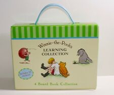 Winnie the Pooh's Learning Collection Boxed Set of 4 Board Books