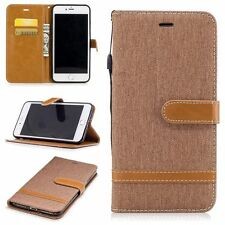 Wallet Magnetic Stand Flip Leather Case Cover For iPhone 5S 6 6S 7 Plus SE 8