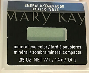 New in Package MARY KAY Emerald Green Full Sz Mineral Eye Color .05 Oz FREE SHIP