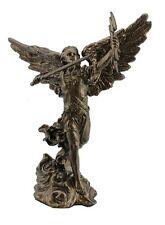 Angel Statue St Saint Remiel Compassion Thunder Miniature Figurine #WU76273AP