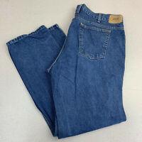 Berkley Jensen Classic Jeans Mens 42X32 Blue Straight Leg Cotton Medium Wash