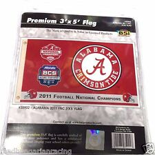 New listing Alabama Crimson Tide 2011 National Champions Flag New In Package 3'X5'