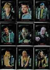 Supernatural Seasons One to Three Character Bios Shadowbox 9 Card Chase Set