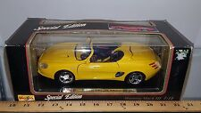 1/18 MAISTO SPECIAL EDITION FORD MUSTANG MACH III CONCEPT CONVERTIBLE YELLOW bdu