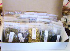 Choose 60 2x3 bags of Wiccan/Pagan Herbs for your Witchcraft Altar Kit-Herb Box