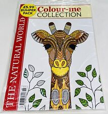 Colour-me COLLECTION #36 BUMPER PACK (NATURAL WORLD/FLORAL WALLPAPER (NEW