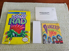 Totally Rad - Nintendo NES - Authentic - Box Only - Oval Seal!