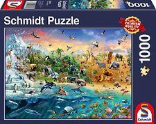 Animal Kingdom Schmidt Jigsaw Puzzle 1000 pieces 58324