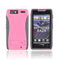 Case-Mate POP! Case with Stand for Motorola Droid RAZR XT912 (Pink/Cool Grey )