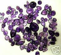 70 ct. genuine Amethyst mixed Parcel - Gorgeous!