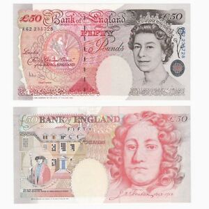 Bank of England £50 - BYB ref: BE262 (A.Bailey) UNC.