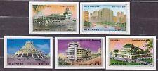 KOREA Pn. 1983 MNH** SC#2287/91  set, Buildings - Imp.