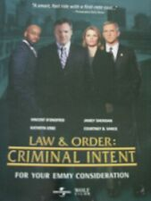 Law and Order Criminal Intent VIncent D'Onofrio Emmy Ad a