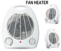 2KW Portable Home Electric Upright Adjustable Blow Fan Heater Hot Cold 2000W