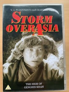 Storm Over Asia DVD 1928 Pudovkin Soviet Russian Silent Movie Classic