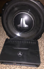 JL Audio 12tw3 & 500/1 Amp