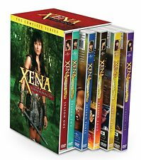 Xena Warrior Princess Complete Season 1-6 Series DVD Set Collection TV Show Lot