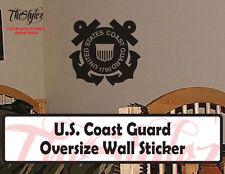 U.S. Coast Guard Custom Wall Vinyl Sticker