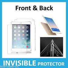iPad Air 2 INVISIBLE Screen Protector Shield - Full Body FRONT AND BACK Guards