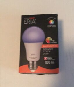 Eria Colors And White A19 60W Equivalent Dimmable CRI 90 + Smart Bulb