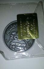 Walt Disney Classic Collection Coin Medal Millennium 2000 Mickey Pluto