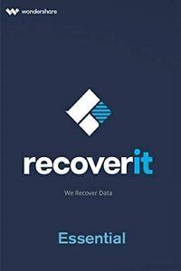 Wondershare Recoverit Standard ESD / Download MAC Lifetime lebenslange Lizenz