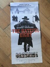 THE HATEFUL EIGHT Locandina Originale 33x70 Cinema Film Quentin Tarantino