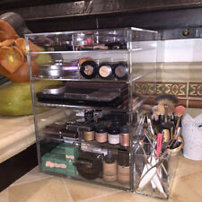 The GlamoureBox Makeup Organizer, Cosmetic Cube Box Case With 5 Drawers (A5R)