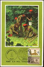 USA 1981 National Scout Jamboree Virginia Card #C35859
