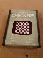 CHECKERS by ACTIVISION for Atari 2600 ▪︎ CARTRIDGE ONLY ▪︎FREE SHIPPING ▪︎