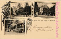 AK Hameln, Villa Emma, 3 Ansichten, 1899, 01/07