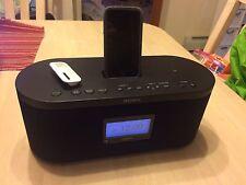 Sony XDR-S10Hdip digital hd radio clock w/ iPod dock LIKE NEW