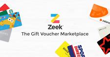 Code 26XCSZ £5 Off Next, Itunes, Amazon Gift Cards @ Zeek (New Customers)