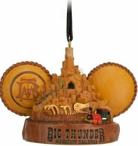 Disney Parks Big Thunder Mountain Railroad Ear Hat Ornament - Magic Kingdom