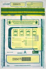 9x12 SafeLok, clear, 100 Deposit Bags