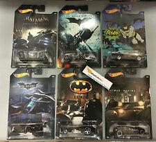 2015 Hot Wheels Batman Series * 6 Car Set * Limited Edition * Sale!