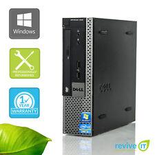 Dell Optiplex 7010 USFF  i5-3550S 3.00GHz 4GB 500GB Win 7 Pro 1 Yr Wty