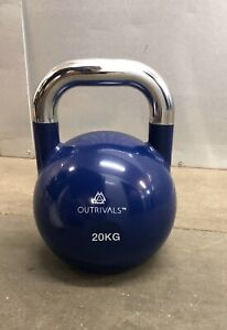 Kettlebells Competition Style 20kg Heavy Steel Fitness Crossfit Home Gym