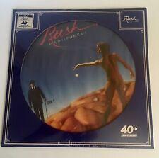 RUSH / Hemispheres Picture Disc Album 40th Anniv. / Mint sealed RSD 2019 LP