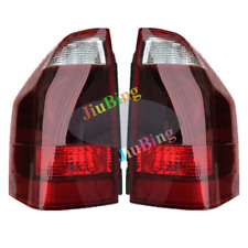 2Pcs For Mitsubishi Pajero V73W V77W 2008 Rear Red Tail Lamp Light Brake Signal