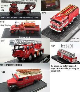 choose 1/72 Mercedes benz Praga IFA W50 TATRA 813,1/87 American fire engine