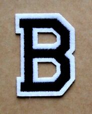 Letter B Alphabet  Iron Sew On Patch Applique Badge Motif