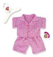 Teddy Bear Clothes fits Build a Bear Teddies Pink PJ's Pyjamas Bears Clothing