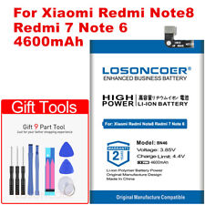 2019 LOSONCOER Replacement Battery BN46 4600mAh For Xiaomi Redmi Note8 Note 8 Re