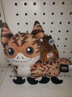 """GALAXYS EDGE TRADING OUTPOST Star Wars LOTH CAT 7"""" Plush With Sounds EXCLUSIVE"""