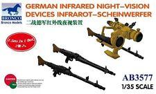 Bronco 1/35 3577 German Infrared Night-Vision Devices Infrarot-Scheinwerfer