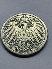 1900-J Germany 10 Pfennig VG++ #7941