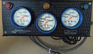 Auto Meter 4523, 4535, 4541 Pro Comp Ultra-Nite Gauge Set W/Longarce Mount